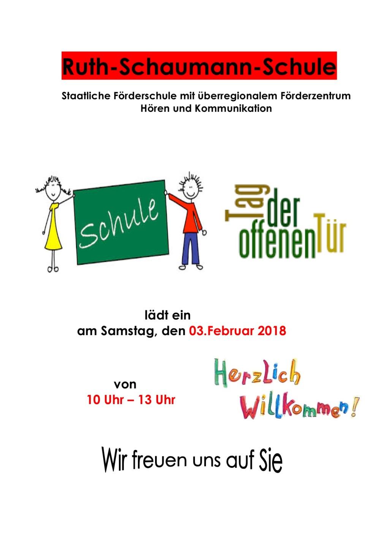 Plakat Einladung 2018